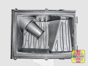 Illustration of step: View of the air filter chamber - step 6