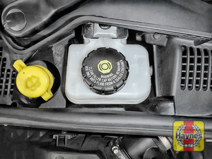 Illustration of step: Now securely replace and tighten the cap - replace the cover - step 4