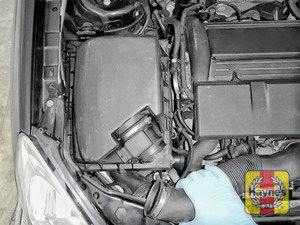 Illustration of step: Release the air intake - step 4