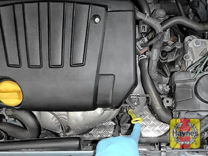 Illustration of step: Always replace the dipstick, oil filler cap and engine cover - step 9