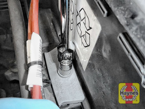 Illustration of step: Tighten if required - a 13mm socket is needed - step 6