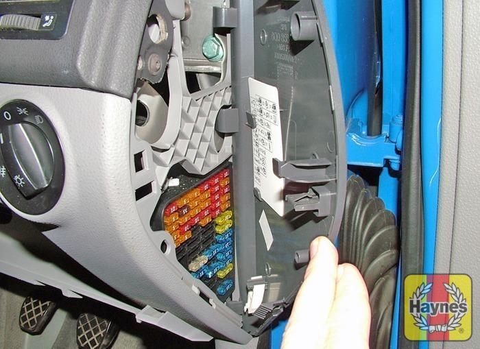 Volkswagen polo tdi fusebox and diagnostic