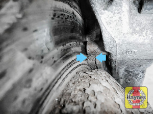 Illustration of step: Locate rear brake pads - step 8
