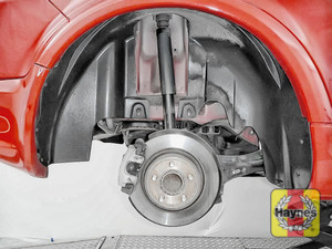Illustration of step: It's a similar procedure with the rear wheels - step 8