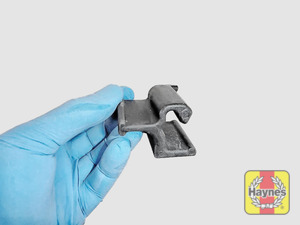 Illustration of step: Now refit the battery clamp  - step 8