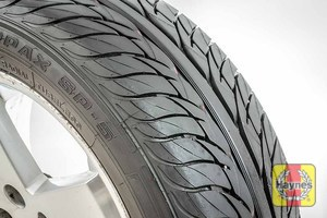 Illustration of step: Before refitting the tyres, take a look at the tyre tread - step 12