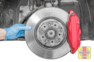 Illustration of step: Check condition of the brake discs - step 14