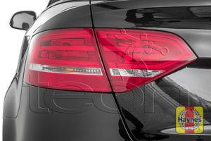 Illustration of step: Check rear light cluster, brake, fog and indicators - step 1
