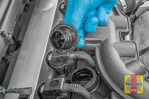 Illustration of step: You are now ready to refill the engine with fresh oil - step 11