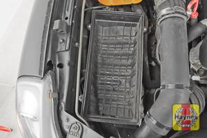 Illustration of step: Check air filter box for debris - step 6
