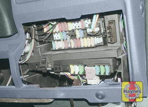 Illustration of step: Unclip the panel from the drivers side of the facia to access the main fusebox - step 1