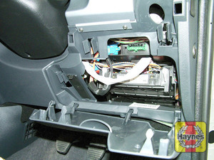 Illustration of step: Unclip the panel from the driver's side of the facia to access the 16-pin diagnostic socket - step 2