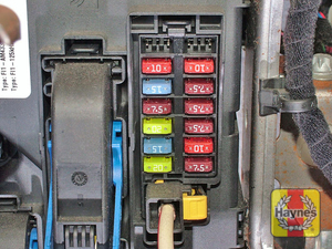 Illustration of step: Remove the passengers glovebox to access the fuses in the body control computer - step 2