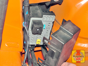 Illustration of step: Additional fuses are located behind the left-hand side luggage compartment trim panel - step 3