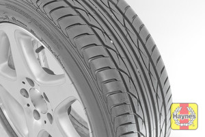Illustration of step: Before refitting the wheels, take a look at the tyre tread, there is a UK legal requirement to have a minimum of 1 - step 15