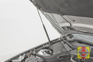 Illustration of step: The bonnet has gas struts to safely support it - step 3