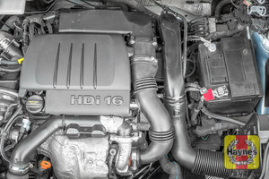 Illustration of step: Reassemble air filter housing and replace the engine cover - step 14