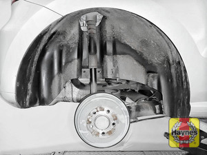 Illustration of step: It is a similar procedure with the rear wheels - step 9
