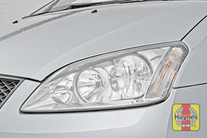 Illustration of step: Check front lights, main, dipped beam and indicators - step 6