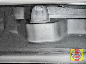 Illustration of step: Check the efficiency of the washer jet nozzles, are they aiming high enough on the windscreen? If needed, adjust the aim using a pin or a very small screwdriver - step 5