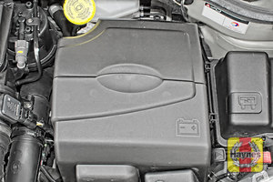 Illustration of step:  Replace the battery cover If you have to replace the battery or alternator, click below  - step 6