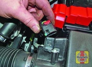 Illustration of step:  On 1 - 1.6 litre engines - step 10