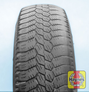 Illustration of step: Uneven tyre wear is caused by unbalanced wheels, worn/broken suspension parts, or incorrect wheel alignmentIf you need to change a wheel, click below - step 5