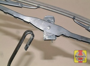 Illustration of step:  Don't forget to check the tailgate wiper blade as well (where applicable) - step 3