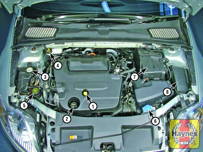 ford mondeo 2007 2012 2 0 tdci fluid level checks haynes rh haynes com Engine Ford Mphev Ford Duratorq Engine