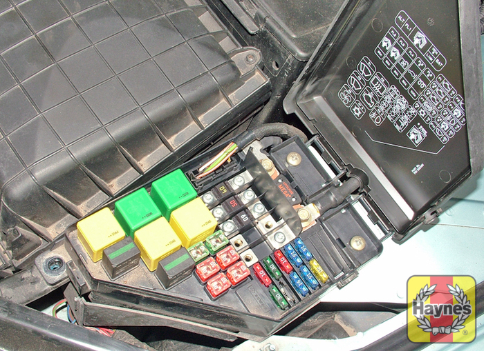 rover 75  1999 2005  1 8 fusebox and diagnostic socket Rover 25 watermarked large Fusebox02