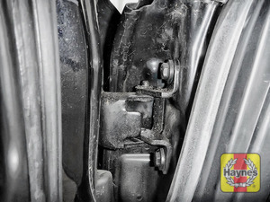 Illustration of step: Why not lubricate your hinges? Using a can of lithium grease, spray a very small amount onto each door hinge and the bonnet catch - step 3