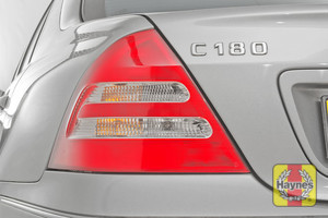 Illustration of step: Check rear light cluster, brake, fog and indicators - step 3