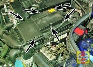 Illustration of step:  Undo the retaining screws – 1 - step 2