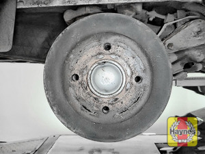 Illustration of step: This model may have drum brakes - step 9