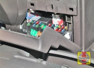 Illustration of step: …and open the driver's side fascia panel to access the fusebox - step 2