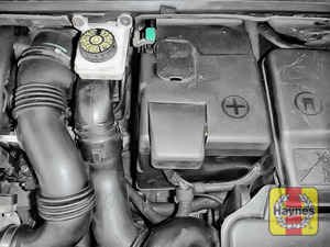 Illustration of step: If you have to replace the battery or alternator, click below - step 5