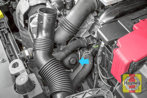 Illustration of step: Now you can see the general location of the oil filter - step 3