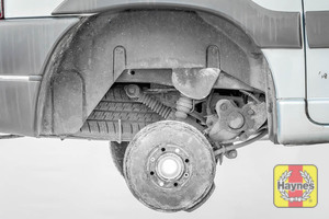 Illustration of step: This model has drum brakes, which should be replaced by a specialist - step 10
