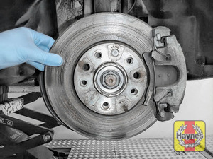 Illustration of step: Check the condition of brake discs - step 4