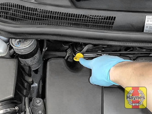 Illustration of step: Replace the dipstick! - step 3