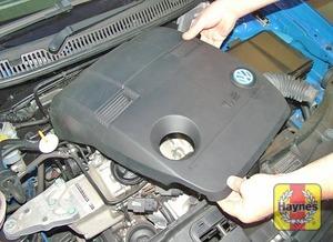 Illustration of step:   - 1.2 litre engines - step 4