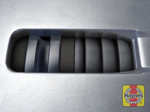 Illustration of step: TIP - Virtually all cars have this inspection window in the brake caliper body, you can usually see the brake pad thickness from here - step 7