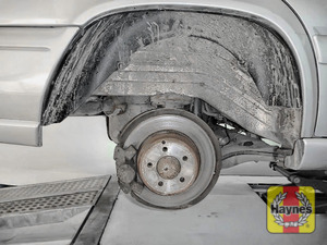Illustration of step: It's a similar procedure with the rear wheels - step 9