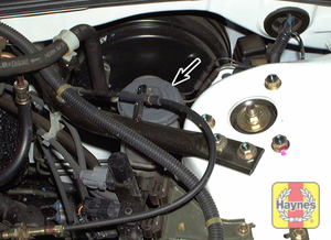 Illustration of step:  2 The brake fluid should be kept between the MIN and MAX marks on the reservoir - turn and lift up the cap to add fluid - Brake and clutch fluid - step 19