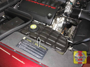 Illustration of step:  10 10 All vehicles covered by this manual are equipped with a pressurized coolant recovery system - Engine coolant - step 15