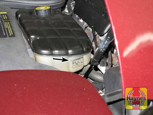 Illustration of step:  11 The coolant level in the tank should be checked regularly - Engine coolant - step 16
