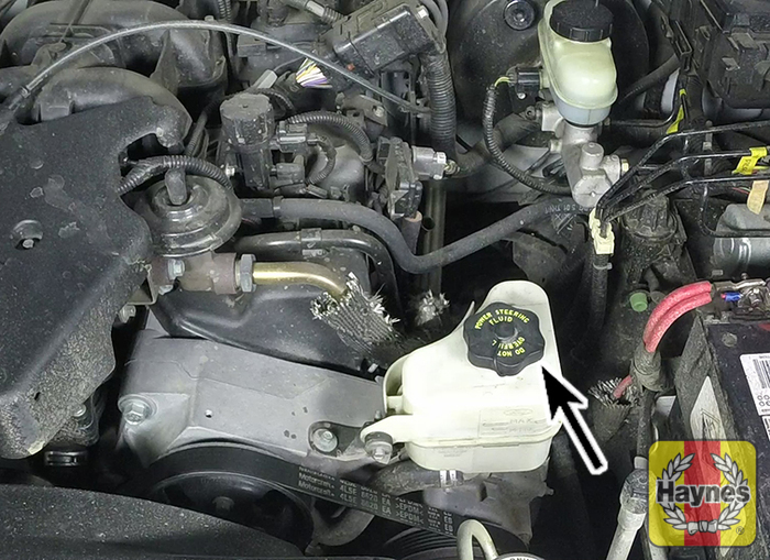 2008 Ford Edge Power Steering Reservoir Location wiring