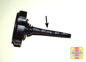 Illustration of step: The lid incorporates a dipstick - step 2