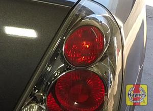 Illustration of step: Check tail lights, brake, backup and turn signals  - step 3
