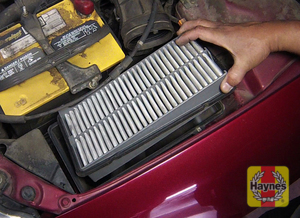 Illustration of step: Open the filter box and remove the filter - step 4
